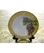 "222 Fifth Interiors Cheri Bloom Cortland 9 1/8"" Soup Bowl fruit GRAPE - $3.75"