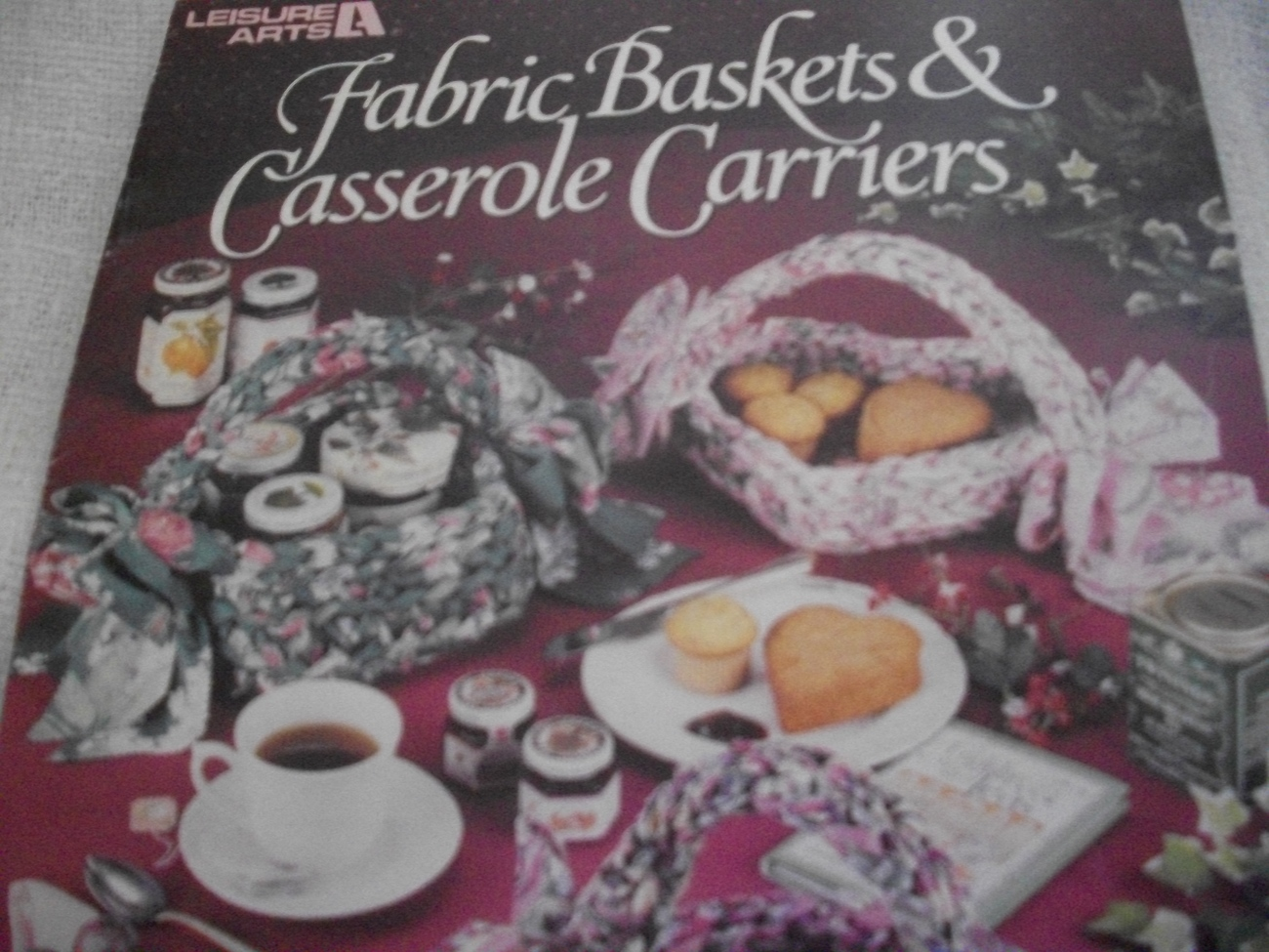 Primary image for Fabric Baskets & Casserole Carriers to Crochet