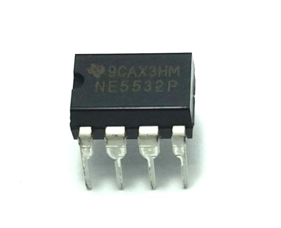10 x Texas Instruments NE5532P  - Free Shipping - New and Authentic - USA Seller