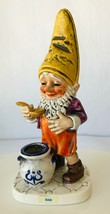 Goebel Co Boy Sam the Gourmet Chef Merry Gnome Porcelain Germany Story Tag - $71.60