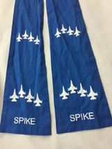 Blue AIR FORCE SQUADRON PILOT SCARF USAF 62nd FIGHTER SPIKE image 6