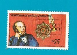 Republica De Guinea Ecuatorial #1773 Awn 75 Multicoloured  Sir Rowland Hill 1980 - $1.99