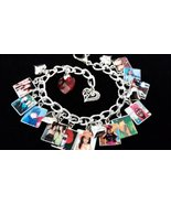 CUSTOM PHOTO Charm Bracelet YOUR PHOTOS Personalized BEAUTIFUL - $36.99