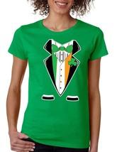 Women's Tee Shirt Saint Patrick's Day Irish Suite  Irish Shirt - $17.00