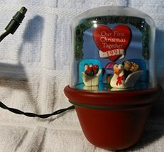 """Vintage """"Tunnel of Love - Our First Christmas Together 1991"""" - Christmas Orna... - $14.99"""