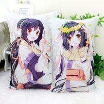 Japanese Anime Square Dakimakura Utawarerumono Sofa Waist Throws Pillow ... - $28.79+