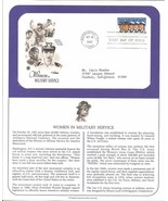 1997 FDC WOMEN IN MILITARY SERVICE & PCS INFORM... - $4.89