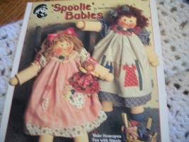 'Spoolie' Babies Craft Doll Book - $3.50