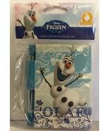 DISNEY FROZEN OLAF SKETCH & SNIFF NOTE PAD & GLITTER GEL PEN - Marshmall... - $3.94