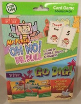 Leap Frog Card Game Double Pack ~ Mr. Pencil - Oh No! Dr. Dull & Go Dig!... - $8.64