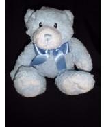 """12"""" First Impressions Plush Blue Teddy Bear Lovey Toy Stuffed Animal - $10.73"""
