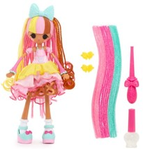 Lalaloopsy Girls Crazy Hair Doll- Scoops Waffle Cone With Fancy, Bendy H... - $24.94