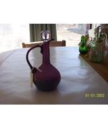 Vintage Purple Glass Cruet - $19.80