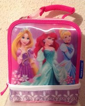 Disney PRINCESS Insulated Soft Lunch Box Pack NEW - Back To School - $12.97