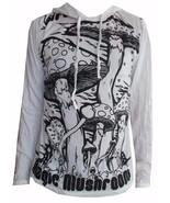 u4 Men Yoga Hoodie long sleeve Yoga Mushroom Magic Sure om WEED M HIPPIE... - $23.75