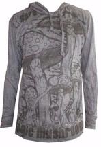 u4 Men Yoga Hoodie long sleeve Yoga Mushroom Magic Sure om WEED M HIPPIE... - $19.79