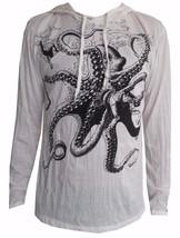 u4 Men Yoga Hoodie long sleeve Yoga Octopus Sea Ra Sure om WEED M HIPPIE... - $17.81