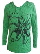 u4 Men Yoga Hoodie long sleeve Yoga Octopus Sea Ra Sure om WEED M HIPPIE... - $19.79