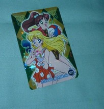 JAPAN Sailor moon special foil prism card # SP 3 minako makot carddass w... - $55.00