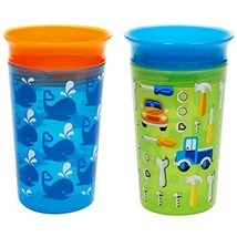 Munchkin Miracle 360 Sippy Cup, Blue/Green, 2 Count - $18.84