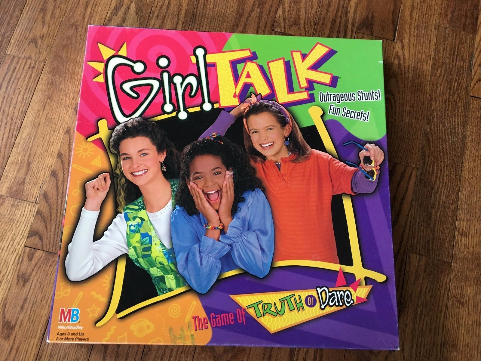 Spiele Girl Talk The Game of Truth or Dare 1995 Edition
