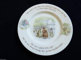 Wedgwood England porcelain Beatrix Potter story MRS TIGGY WINKLE Salad P... - $24.75