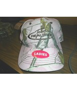 PINK CAMOFLOUGE TEAM REALTREE BALL CAP ADJUST EMBROIDERED ONE SIZE FITS - $12.86