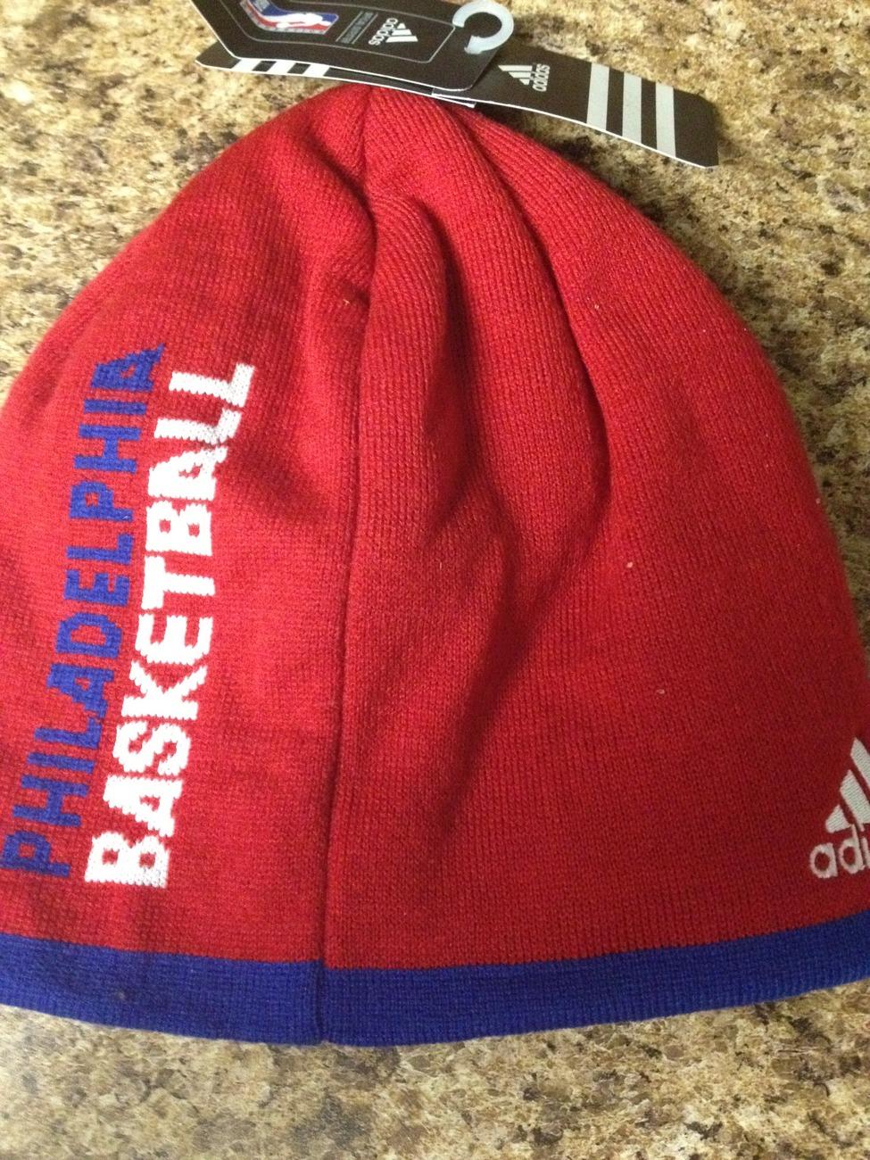 Philadelphia 76ers Adidas Knit NWT