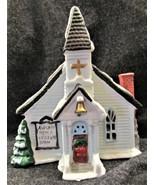 Christmas Village Chapel~~no chord - $10.00