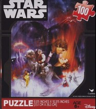 Brand New Mini Star Wars Puzzle Jigsaw Disney 100 piece 9.125 x 10.375 i... - $5.89