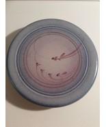 Vintage Jack Westlin of Tacoma, WA Pottery Hanging Blue Trivet Hot Plate - $24.75