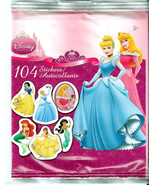 8 Disney Princess Mini Sticker Sheets Party Favors Easter Basket Supplie... - $18,83 MXN