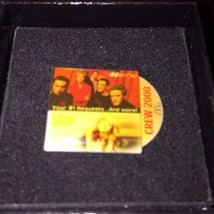 McDonalds employee crew 2000 pin - N' Sync - Britney Spears - collector badge - $7.66
