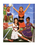 Simplicity 8294 Design your own Cheerleader Costume SZ 12,14 UNCUT - $2.00