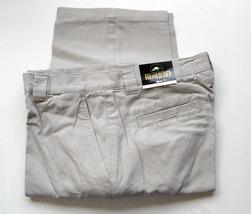 Mens Cargo Pants RedHead 6 pockets Stone 35 x 30 - $19.35