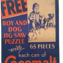 COCOMALT PICTURE PUZZLE VINTAGE CHOCOLATE MILK ... - $74.98