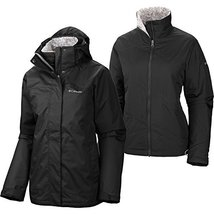 Columbia Women's Sleet To Street Insulated 3-in-1 Jacket (Small) - $194.36
