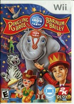 Ringling Bros. and Barnum & Bailey: Circus (Nintendo Wii, 2009) Complete - $2.96