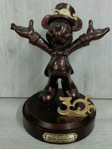 Tokyo Disney Resort 30th Anniversary Mickey Mouse Bronze Statue Limited ... - $1,158.29