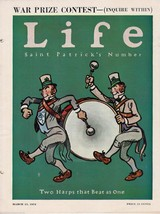 ST PATRICKS DAY PARADE ISSUE COVER ART GRAPHIC ... - $74.98