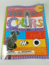 Discovery Toys Wipe Clean ABC Activity Book with over 100 Stickers Trace... - $7.75