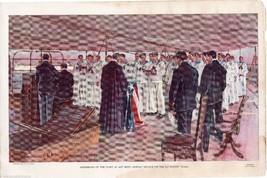 USS BATTLESHIP TEXAS CHURCH SERVICE KEY WEST VI... - $63.74