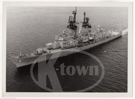 USS FARRAGUT CG-6 US NAVY DESTROYER SHIP VINTAGE MILITARY FILE PHOTO - $49.99