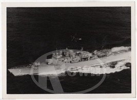 USS RICHARD L. PAGE GUIDED MISSILE CRUISER SHIP VINTAGE MILITARY FILE PHOTO - $49.99