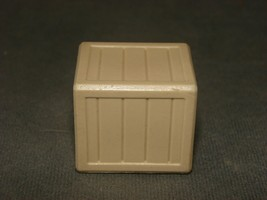 Fisher Price Little People: Lift & Load Tan Wood-Slat Crate - $9.00