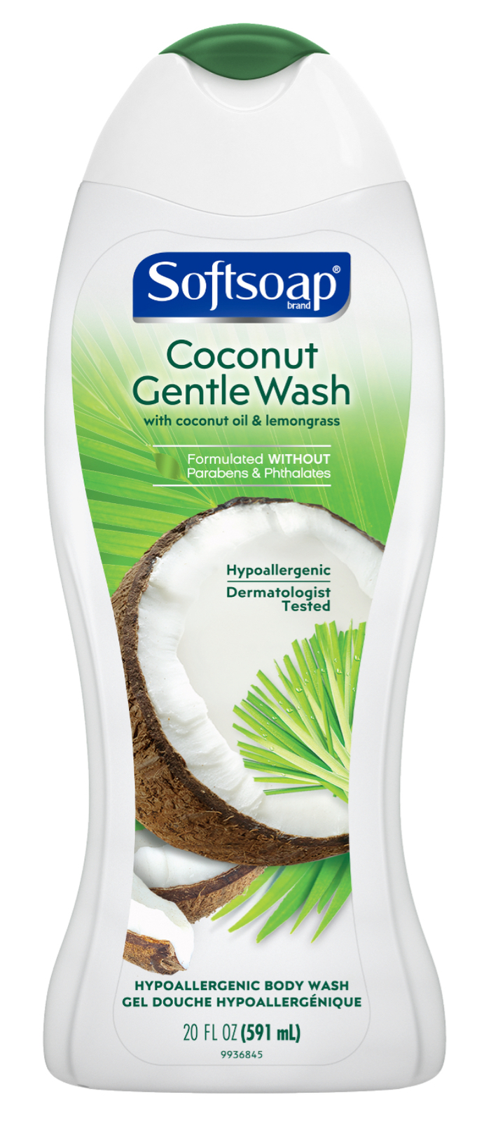 Primary image for Softsoap Moisturizing Body Wash, Coconut Gentle Wash, 20 Ounce