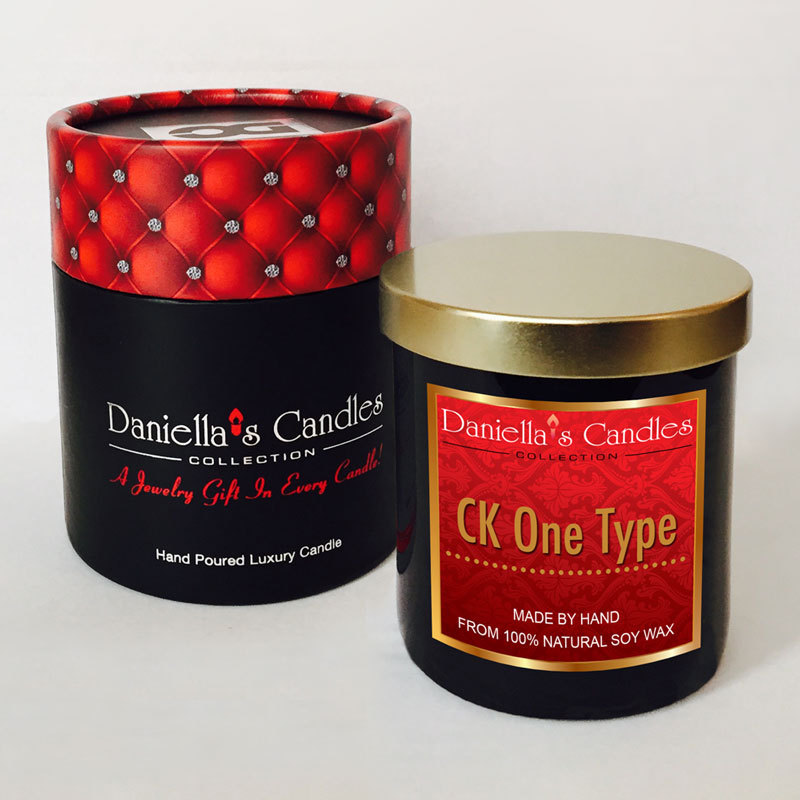 CK One Type Men's Jewelry Candle - Luxury Natural Scented ...