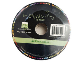 Bazzill Basics In Stitch'z Floss, Black #302702