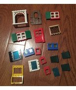 Assorted Lot LEGO WINDOWS & DOORS  18+ - $6.99