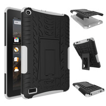 """Rugged Hybrid Protective With KickStand Case For Amazon Fire 7"""" 2015 - W... - $18.98"""
